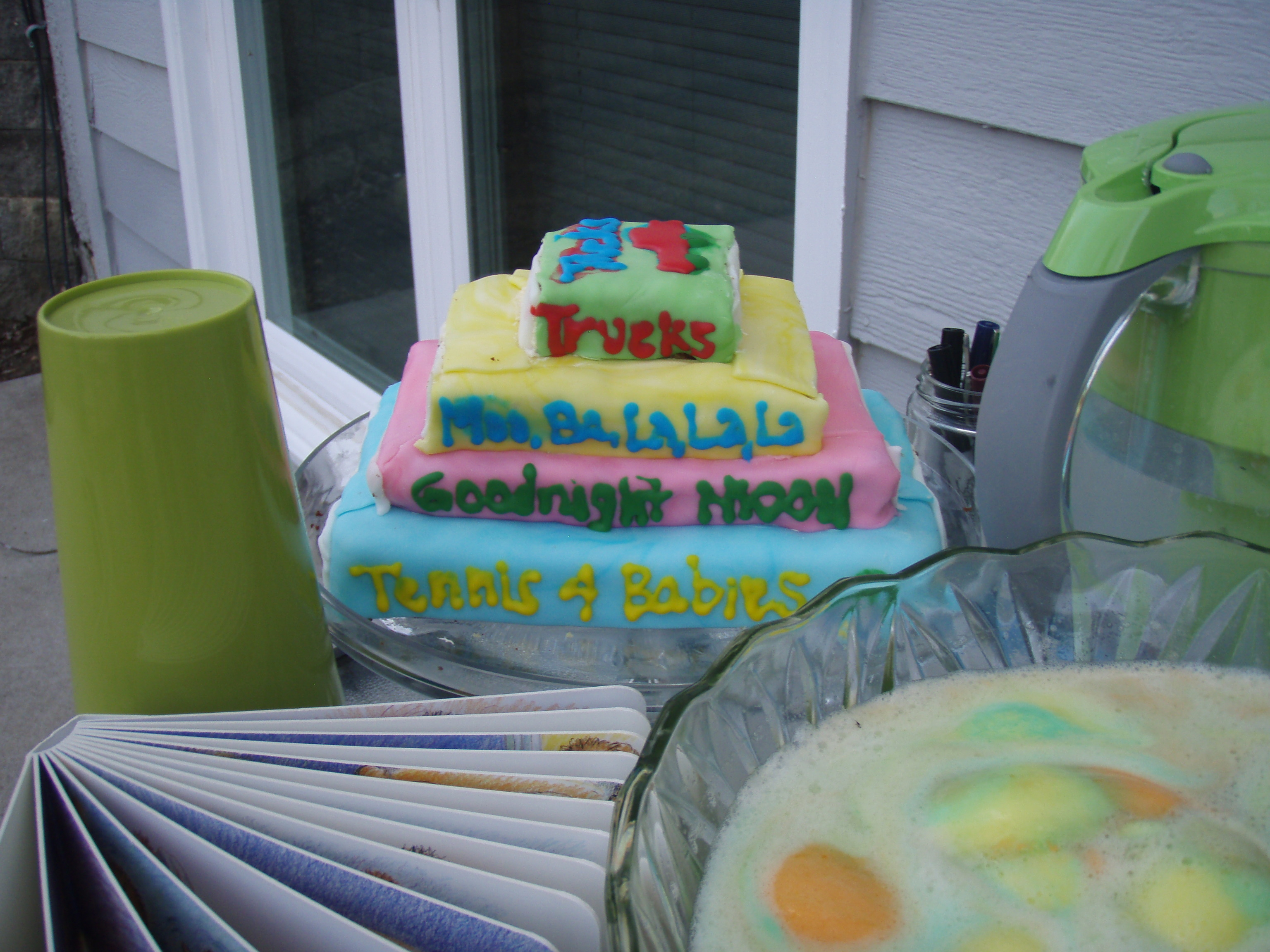 Baby Showers Reading ~ Book themed baby shower coffee drinkers with a reading